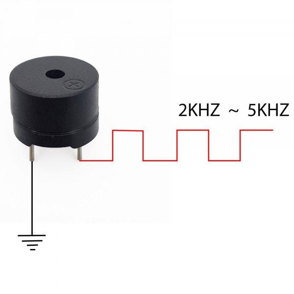 Còi buzz thụ động 5V
