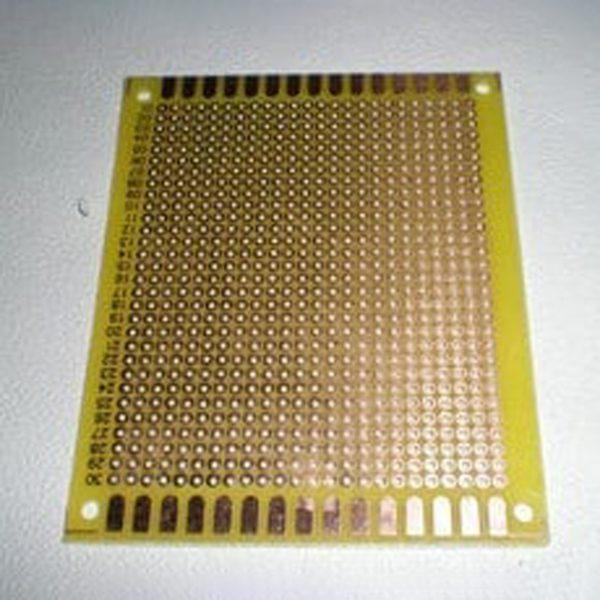 Test board hàn, Bản mạch hàn 7x9cm sợi thủy tinh (vàng)
