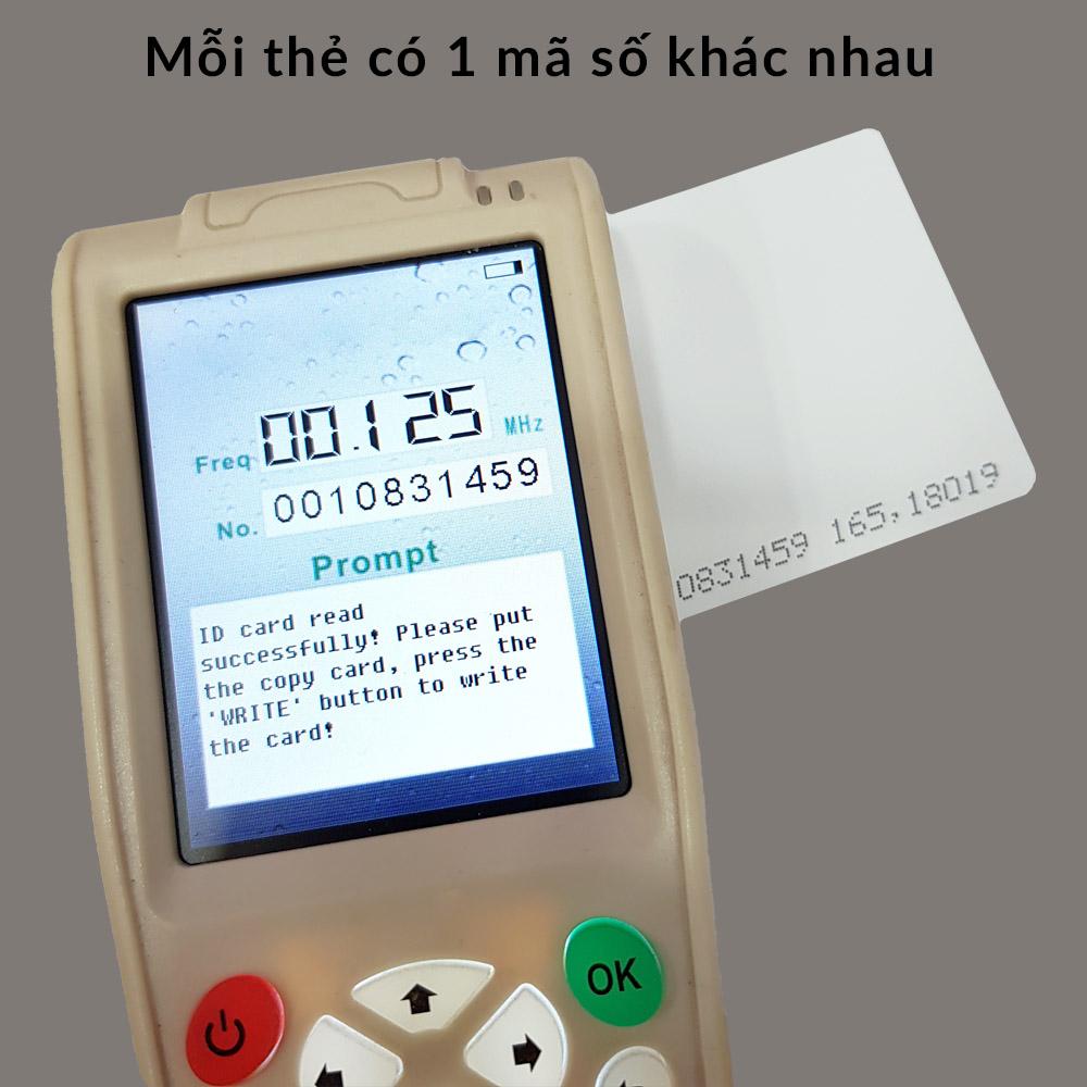 Thẻ Trắng RFID 125Khz