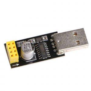 USB Adapter Mạch Thu Phát Wifi ESP8266 Uart ESP-01