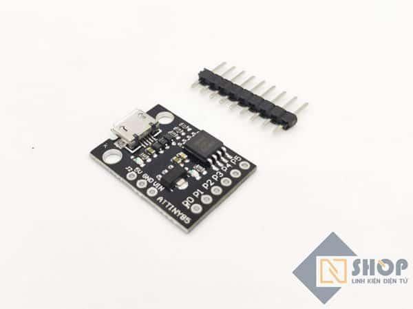 ATTINY85 cổng micro usb