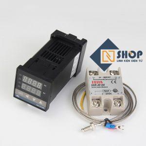 Bộ khống chế nhiệt độ 400 độ REX-C100 + SSR 40DA