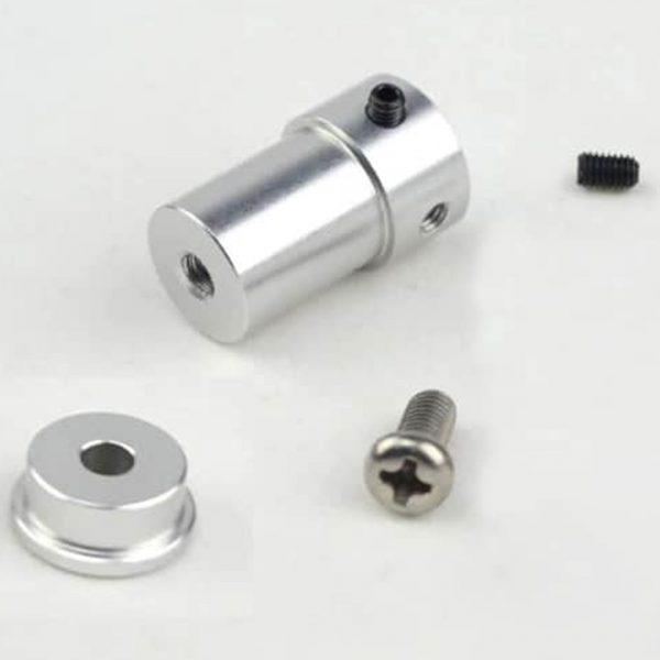 Khớp nối bánh xe Omni, Mecanum với trục động cơ 4mm