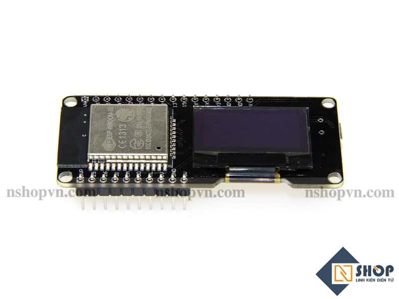 Kit thu phát Wifi ESP32 BLE tích hợp OLED