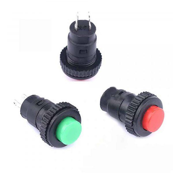 Nút nhấn DS 316 đường kính nút nhấn 10mm