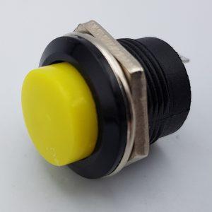 Nút nhấn nhả R13-507 16mm (vàng)