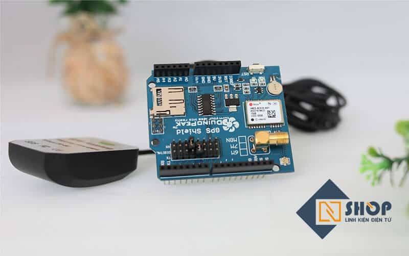 Mạch Arduino NEO-6M GPS Shield