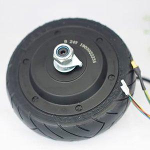 Bánh xe điện 24V 2 trục
