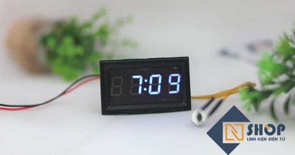 Đồng hồ thời gian (Xanh dương)