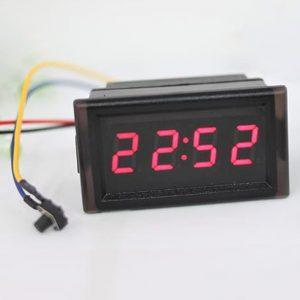 Đồng hồ thời gian chống nước (Đỏ)