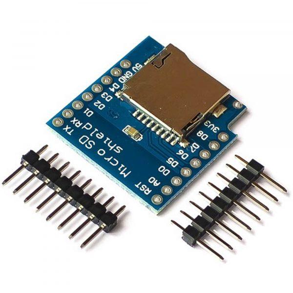 ESP8266 NodeMCU Lua D1 Mini Micro SD Card Shield