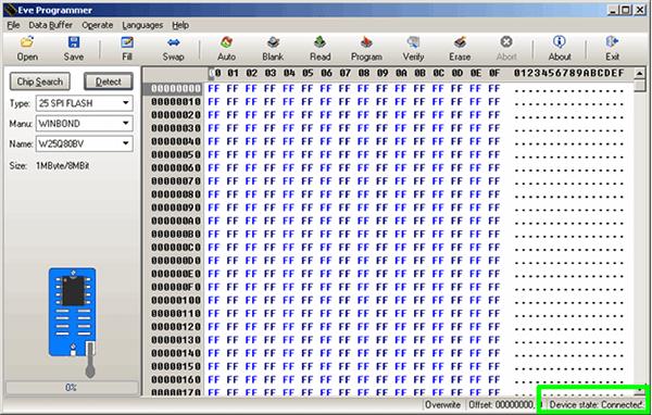 Mạch CH341A USB to UART IIC SPI TTL ISP EPP / MEM