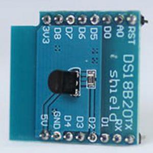 Shield cảm biến nhiệt độ DS18B20 cho Lua D1 Mini