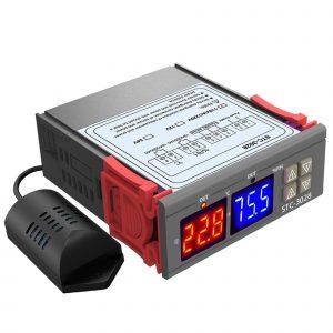 Bộ khống chế nhiệt độ, độ ẩm STC-3028 220VAC