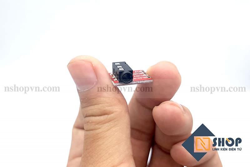 Đế ra chân jack âm thanh 3.5mm (4 chân)
