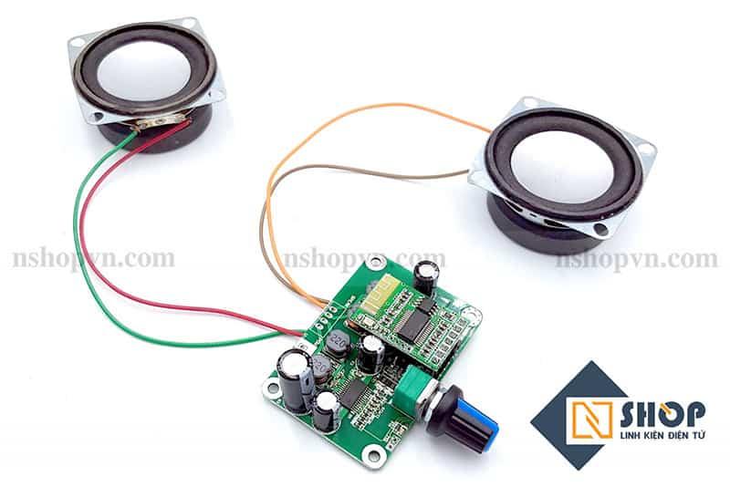 Sơ đồ kết nối của Mạch khuếch đại âm thanh bluetooth TPA3110 30Wx2