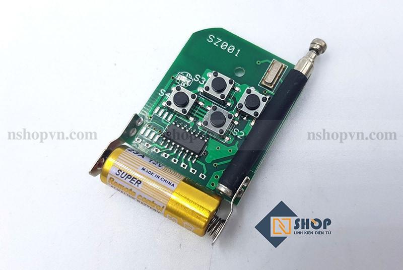 Remote 315Mhz 4 kênh ABCD mã hàn