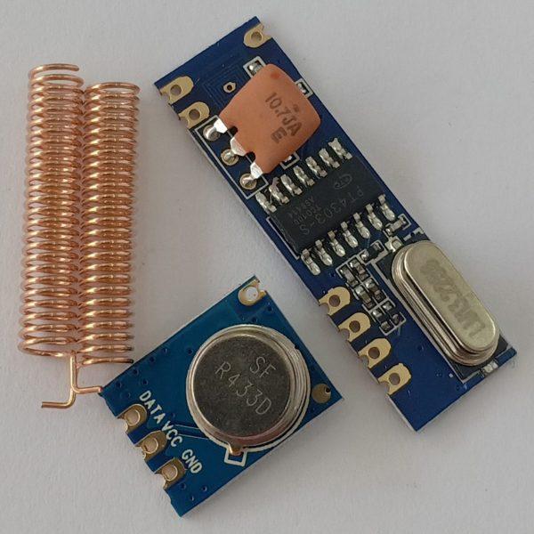 Bộ Thu Phát RF 433Mhz SRX882