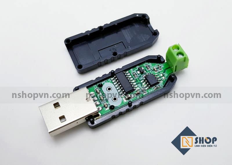 Mạch chuyển đổi giao tiếp USB to RS485