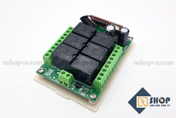 Mạch điều khiển RF 315Mhz 6 kênh kèm remote 1000m