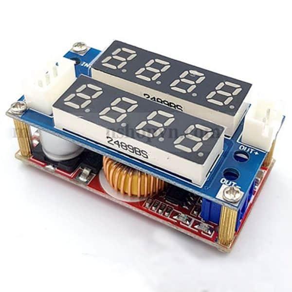 Mạch giảm áp có hiển thị dòng và điện áp