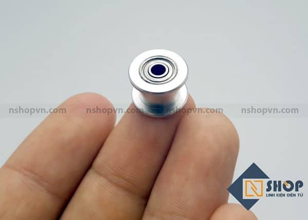 Puly căng đai tương ứng 16 răng trục 3mm đai 6mm