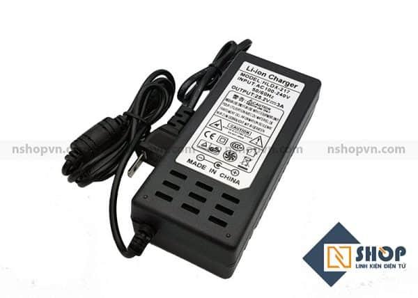 Adapter Sạc pin 6S 25.2V 3A