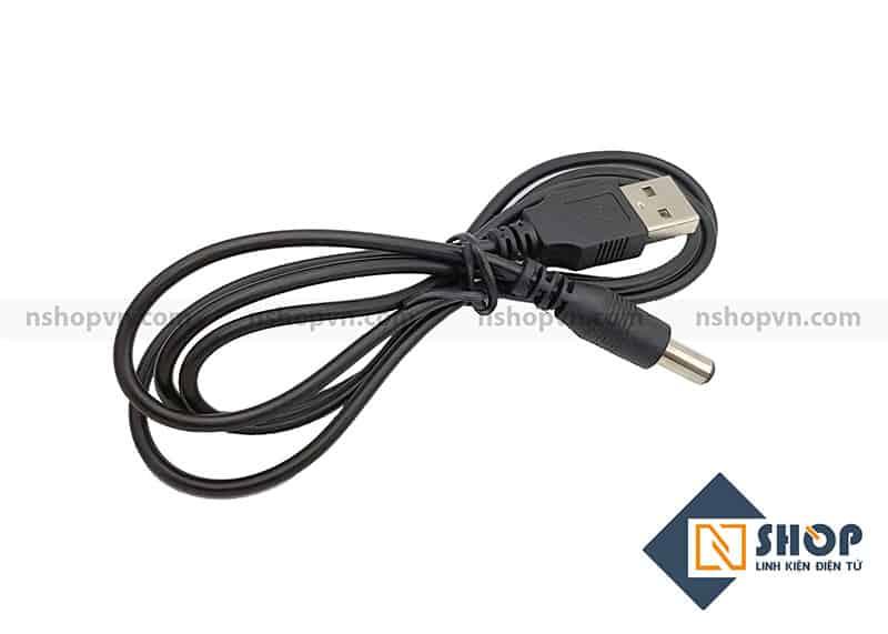 Dây USB sang DC 5.5x2.1