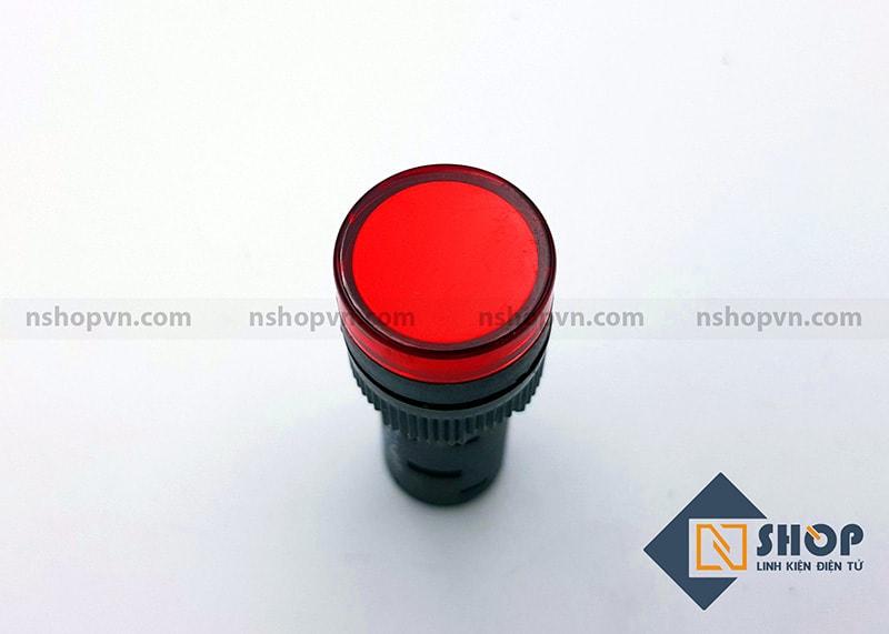 Đèn báo AD16 đỏ 12V