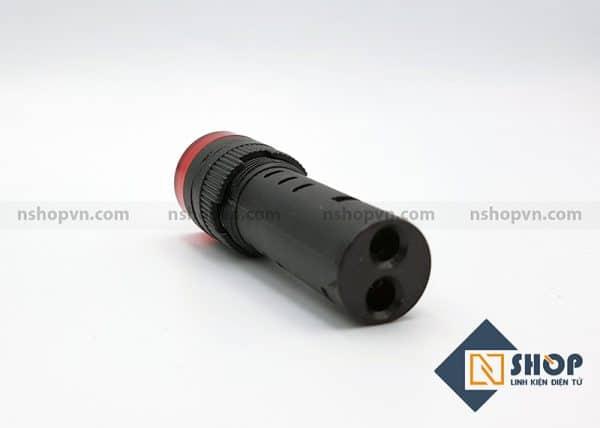 Đèn báo có còi AD16-16SM màu đỏ 24V