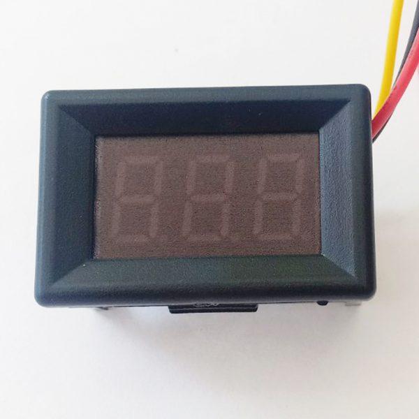 Đồng hồ đo điện áp 3 dây 100V Vàng