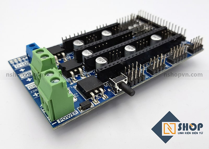 Mạch điều khiển máy in 3D RAMPS 1.6