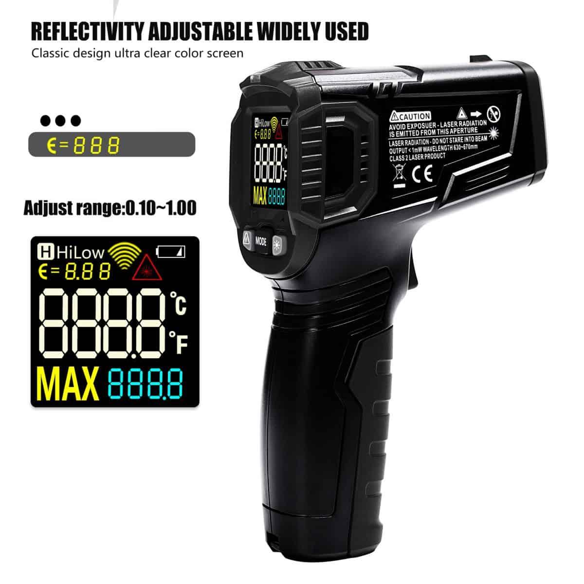 Máy đo nhiệt độ laser không tiếp xúc WinApex ET6531B