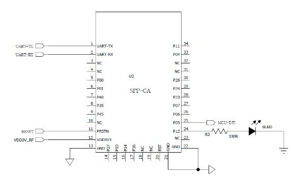 Module thu phát bluetooth HC-06 chip đơn BT06