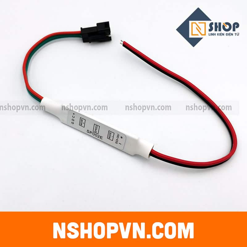 Bộ driver led WS2811 WS2812 3 nút SP002E