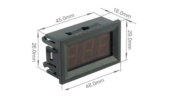 Đồng hồ đo áp DC 2 dây 120VDC ( Xanh Lá )