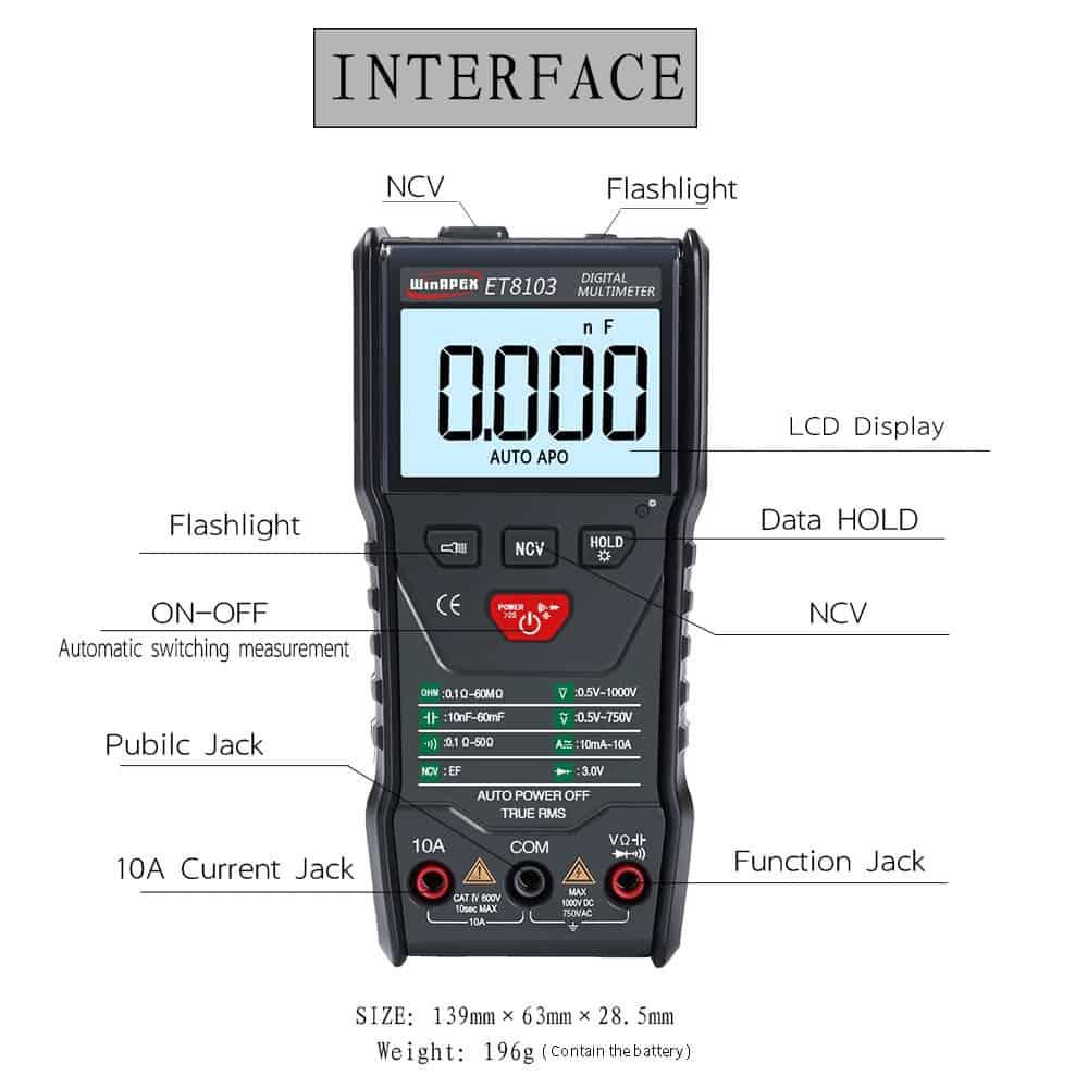 Đồng hồ điện tử WinAPEX ET8103 Auto