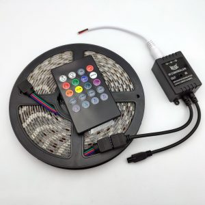 Bộ điều khiển hiệu ứng led RGB 5050 MUSIC IR CONTROLLER kèm 5m LED epoxy chống nước