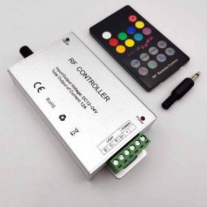 Bộ điều khiển LED RGB 5050 RF controller 12-24V 12A