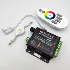 Bộ điều khiển led RGB TQ Music 2 kèm nguồn 12V 12.5A