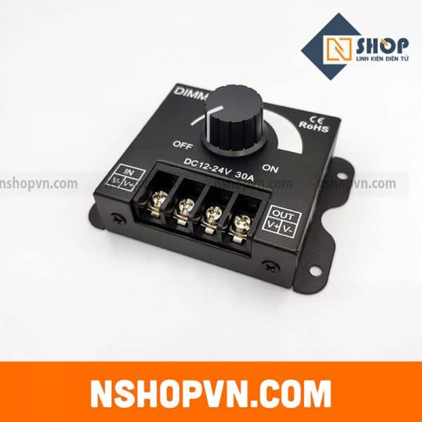 Dimmer chỉnh độ sáng LED 30A