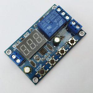 Mạch sạc xả và bảo vệ pin có hiển thị XY-DJ