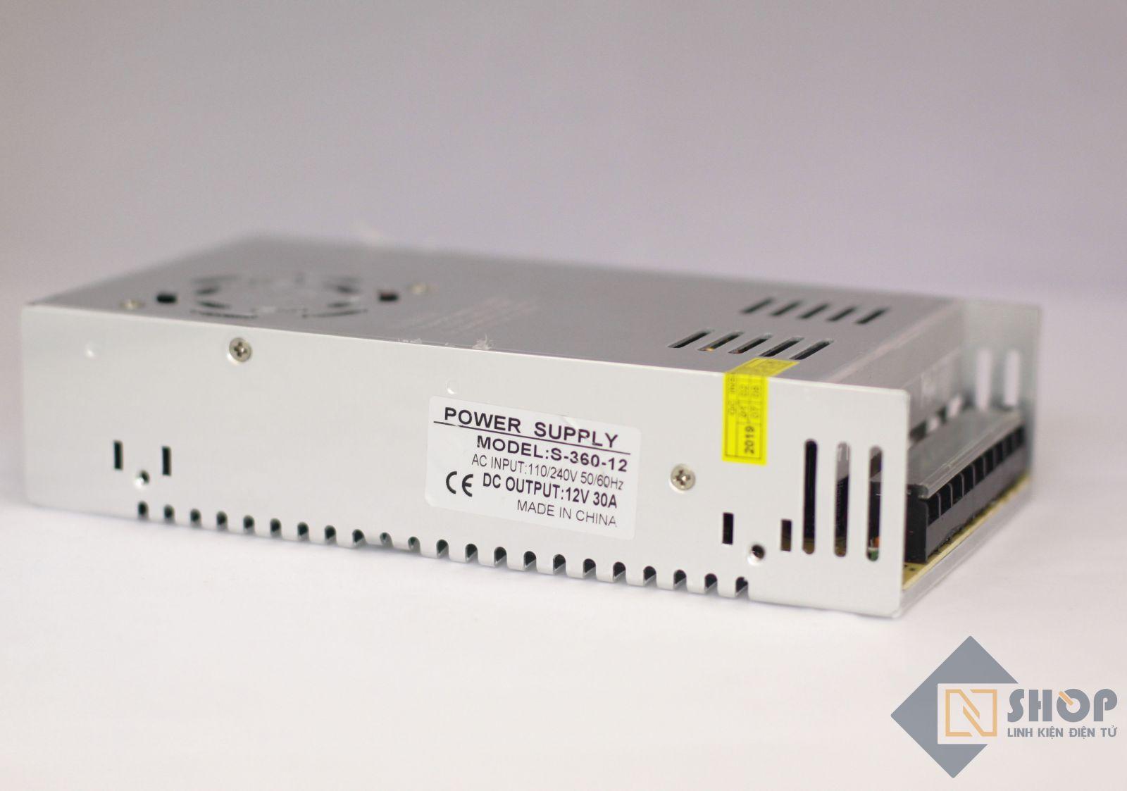Nguồn tổ ong 12V 30A Power Supply