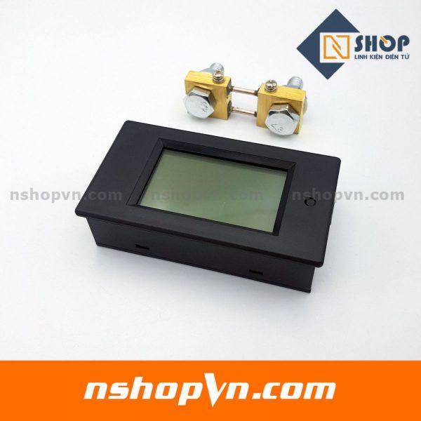 Đồng hồ đo dòng âp công suất mức năng lượng DC 100A kèm trở shunt
