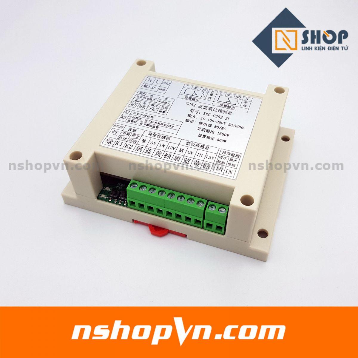 Mạch bật tắt máy bơm theo mực nước XKC-C352-2P