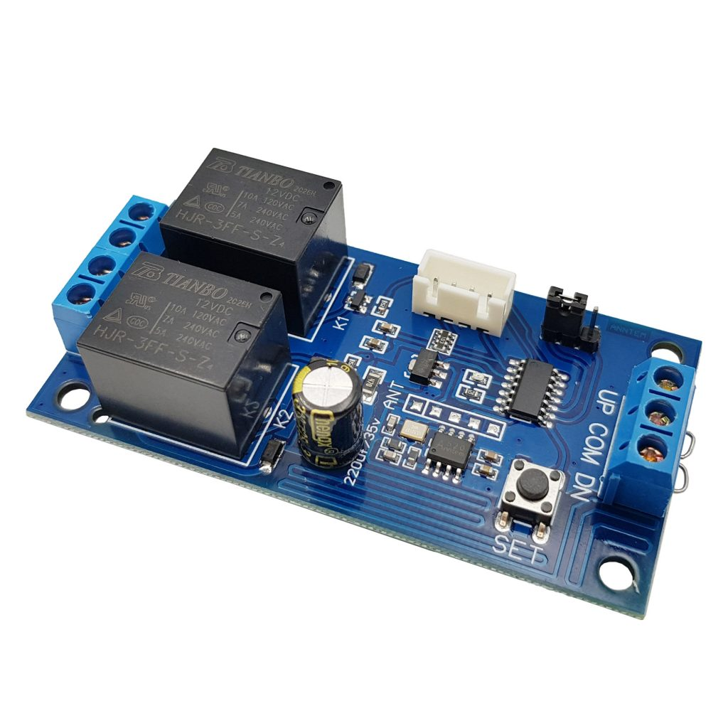 Mạch điều khiển đảo chiều động cơ từ xa 12VDC 24VDC 10A