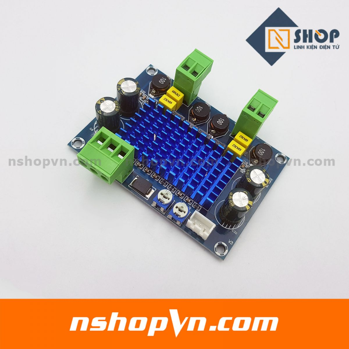Mạch khuếch đại âm thanh TPA3116D2 công suất cao kênh đôi 2x120W