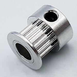 Puly GT2 16 răng trục 6mm đai 6mm đk răng 9.4mm