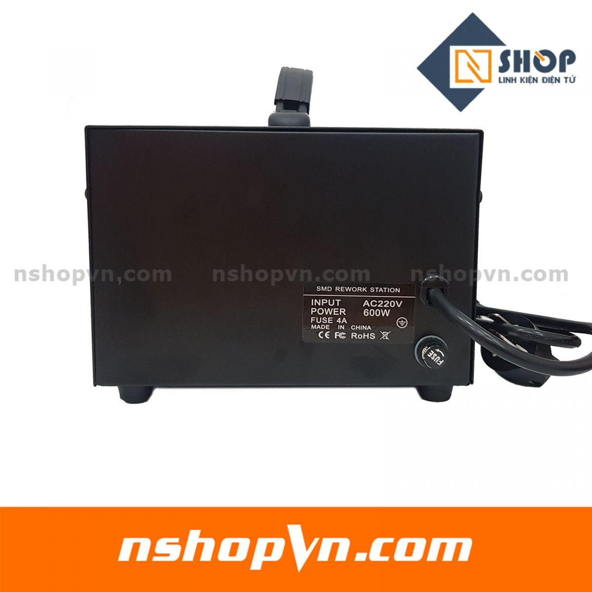 Máy khò điều chỉnh nhiệt độ 860D có led hiển thị