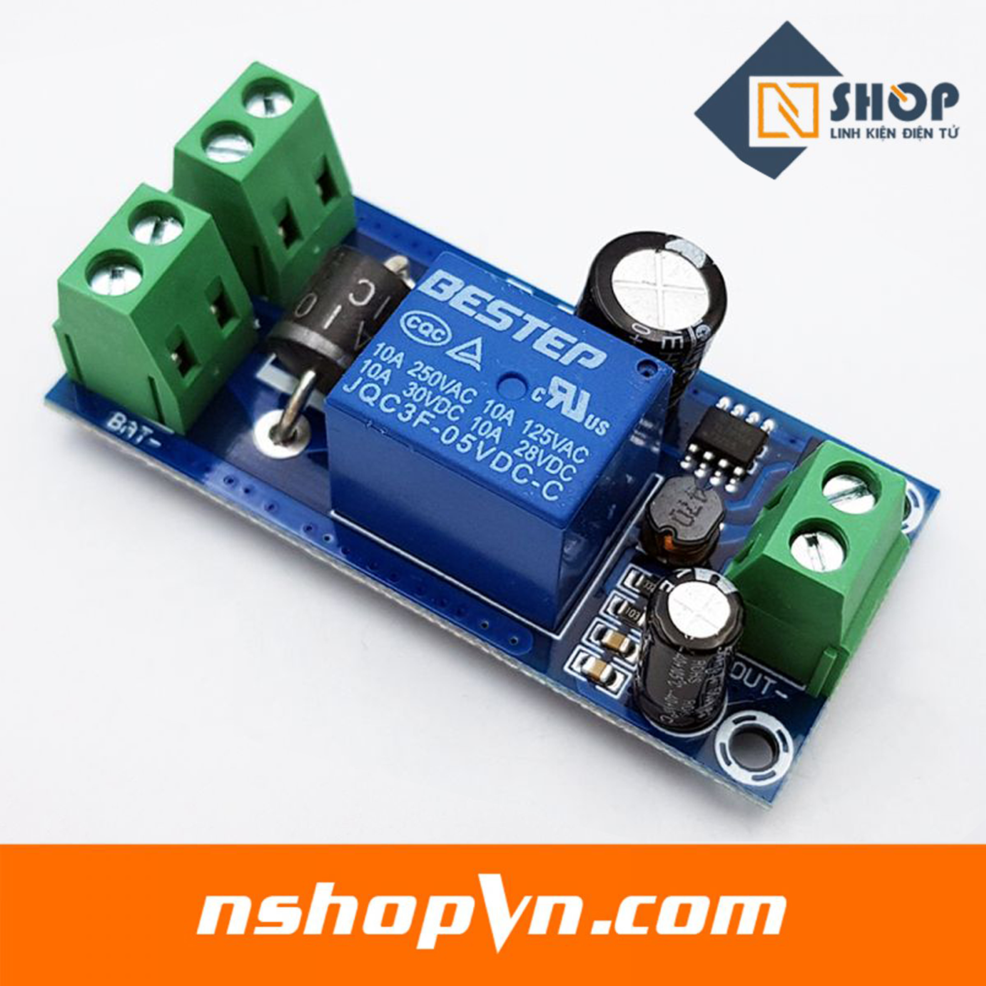 Module chuyển đổi nguồn dự phòng 5-48VDC - 4